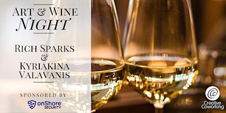 May Art & Wine Night @ Creative Coworking tickets