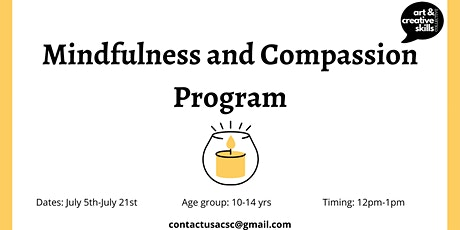 Summer Program - Mindfulness and Compassion Program ingressos