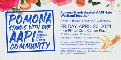 Pomona Stands Against Hate - Pomona Stands Together tickets