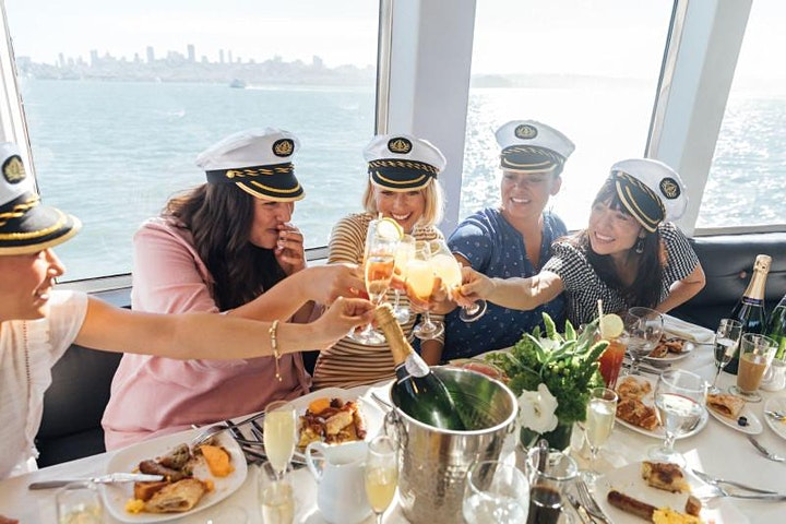 #1 LATIN BRUNCH BOAT PARTY YACHT CRUISE NYC  Statue of liberty views image