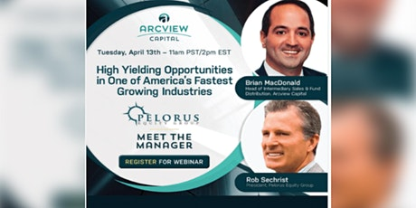 High Yielding Opportunities in One of America's Fastest Growing Industries tickets