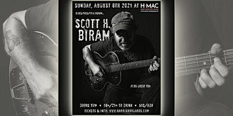 Scott H. Biram at HMAC tickets