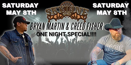 Bryan Martin & Creed Fisher - ONE NIGHT SPECIAL!!! tickets