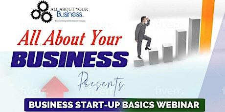 Business Start Up Webinar tickets