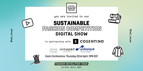 FASHION REVOLUTION UAE - SUSTAINABLE FASHION COMPETITION DIGITAL SHOW tickets