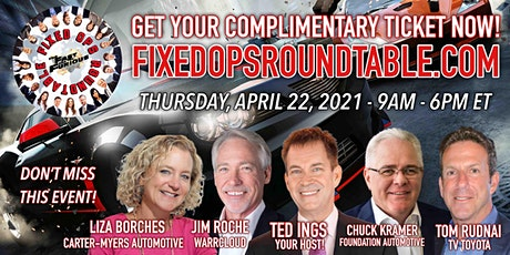 Ted Ings Presents FIXED OPS ROUNDTABLE: THE FAST AND THE FURIOUS tickets