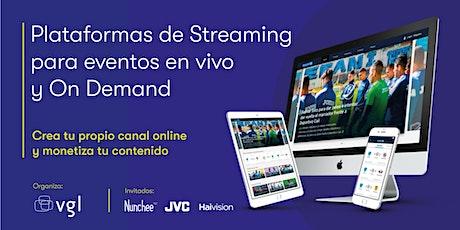 Plataformas de Streaming para Eventos en vivo y On Demand ingressos
