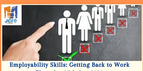 Employability Skills: Getting Back to Work tickets