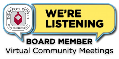 District 3 Virtual Community Meeting with Board Member Karen Brill tickets