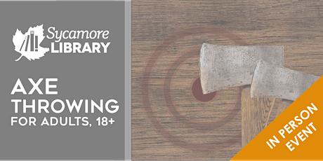 Axe Throwing for Adults (ages 18+) tickets