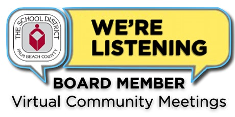 District 5 Virtual Community Meeting with Board Member Frank Barbieri tickets