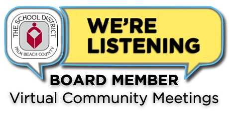 District 6 Virtual Community Meeting with Board Member Marcia Andrews tickets