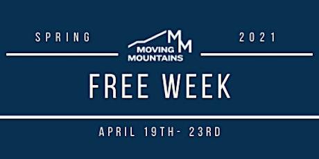 FREE Week tickets