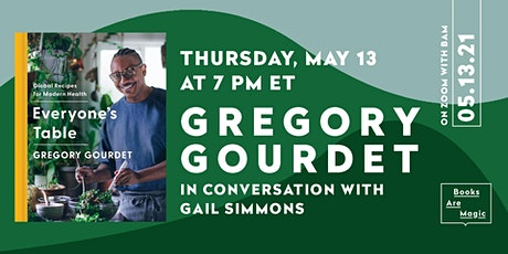 Gregory Gourdet: Everyone's Table w/ Gail Simmons tickets