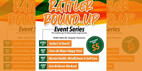 Rattler Round-Up Presents: At-Home Workout! ingressos