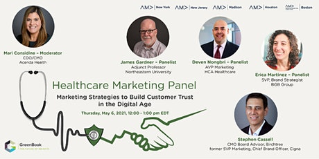 Healthcare Marketing Panel tickets