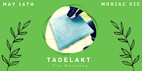 Tadelakt Plaster Tile Workshop -  Tile making for beginners tickets