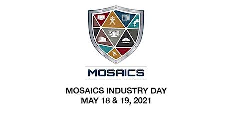 MOSAICS Joint Capability Technology Demonstration (JCTD) tickets
