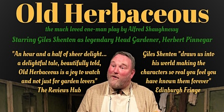 Old Herbaceous tickets