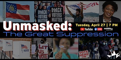 Unmasked: The Great Suppression tickets