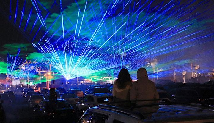 Jacksonville's Jamboree Laser Light Show 2021 image