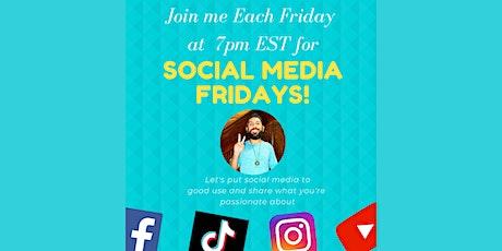 Social Media Fridays tickets