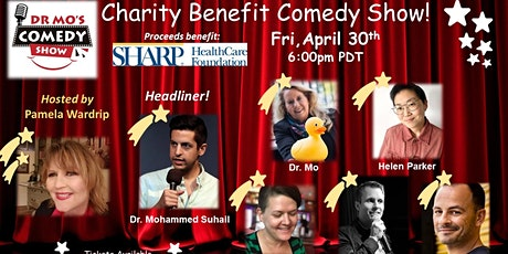 Dr. Mo's Charity Benefit Comedy Show! (April) tickets