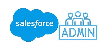 4 Weekends Certified Salesforce Administrator Training course El Paso entradas