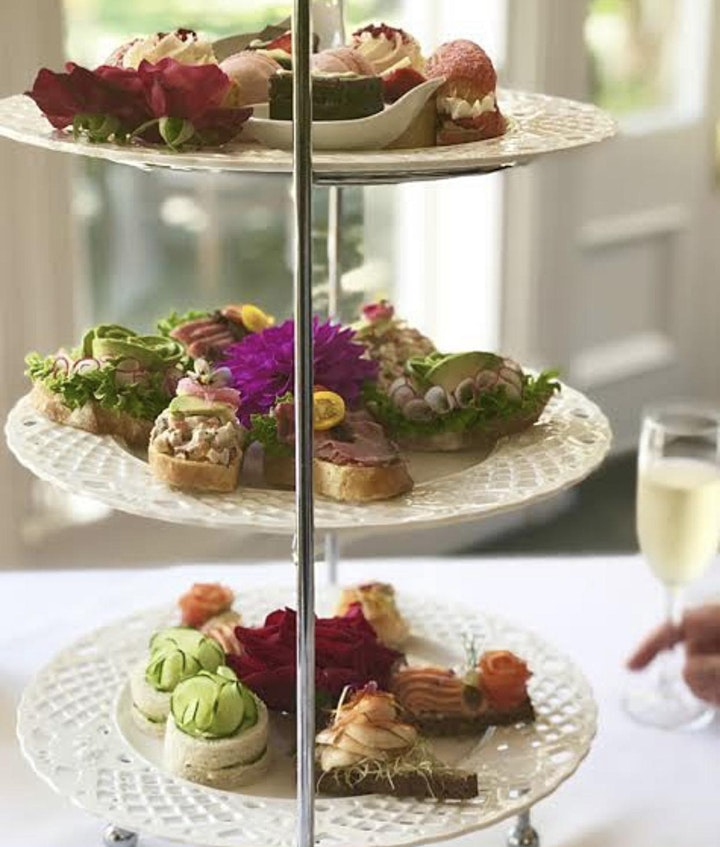 Lavish High Tea With Wines And Live Music image