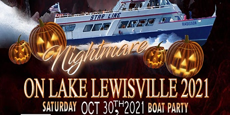 Nightmare on Lake Lewisville Boat Party tickets