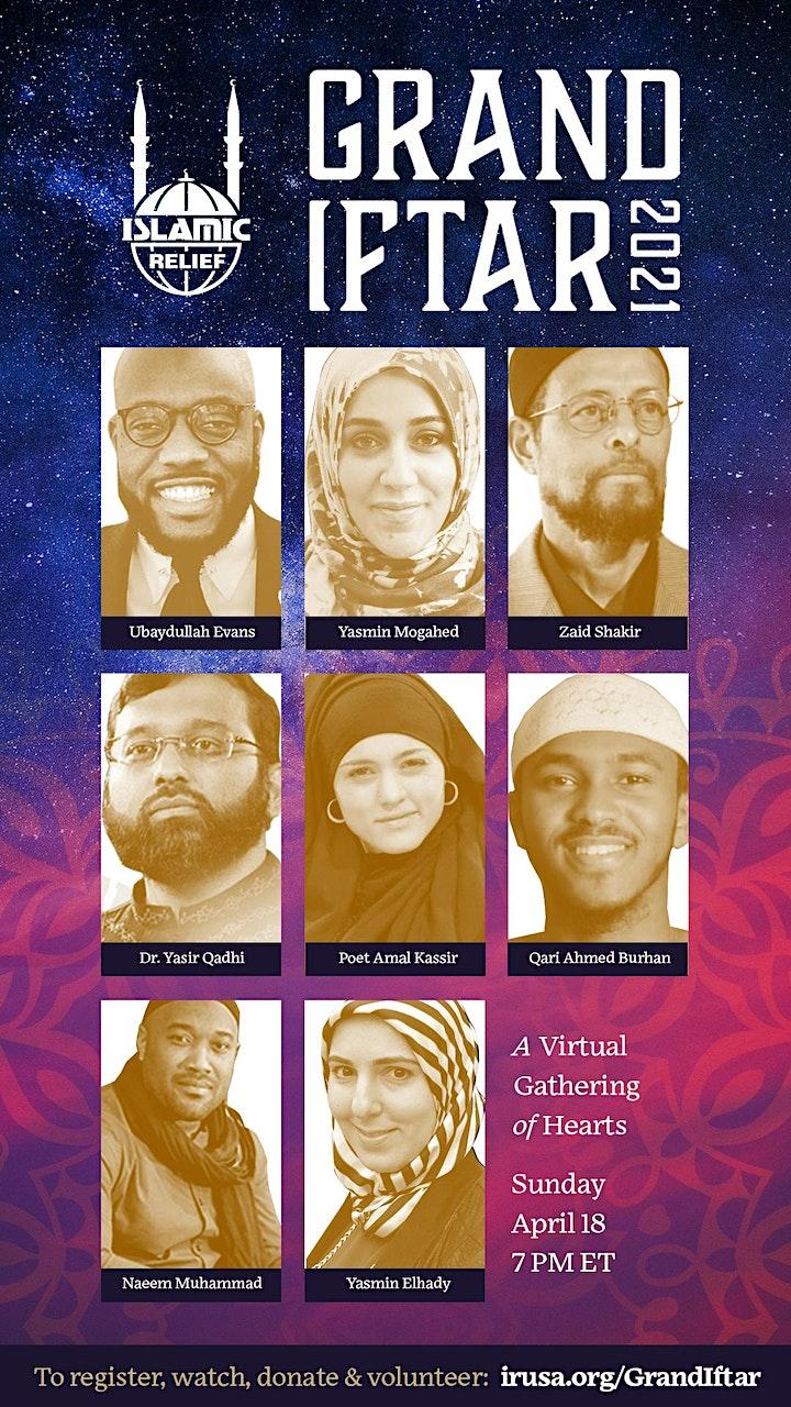 IRUSA Grand Iftar  Virtual  Gathering of Heart image