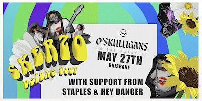 Skerzo Deluxe Tour with Staples & Hey Danger