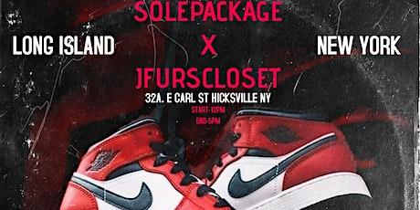 Sole Package X Jfurscloset SneakerShow tickets