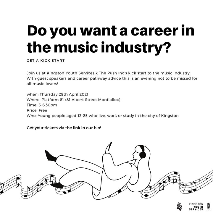 Music and events industry kick start info night image