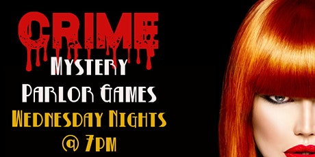 Crime Mystery Adventure in a Box - Parlor Game Night tickets