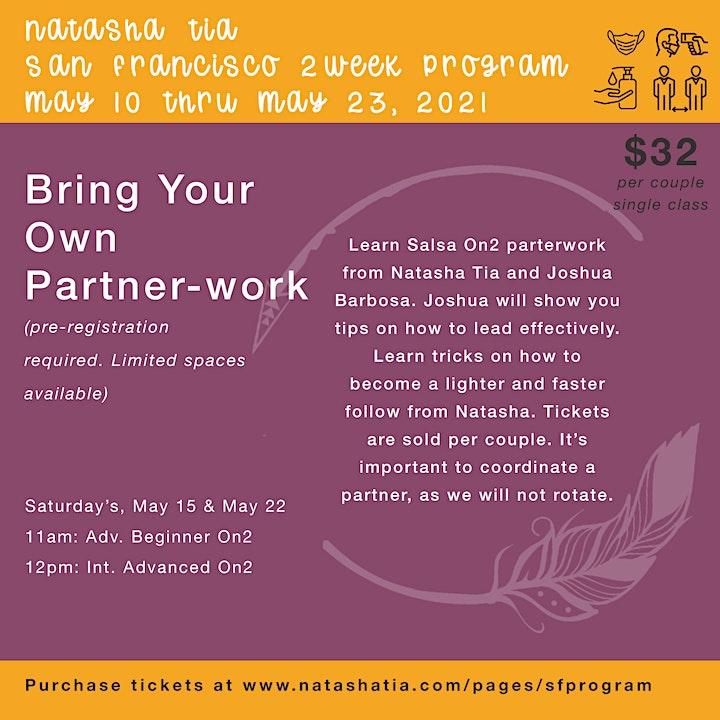 2 Week Dance Program by Natasha Tia in San Francisco May 10-23, 2021 image