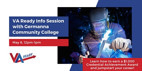 VA Ready Info Session with Germanna Community College tickets