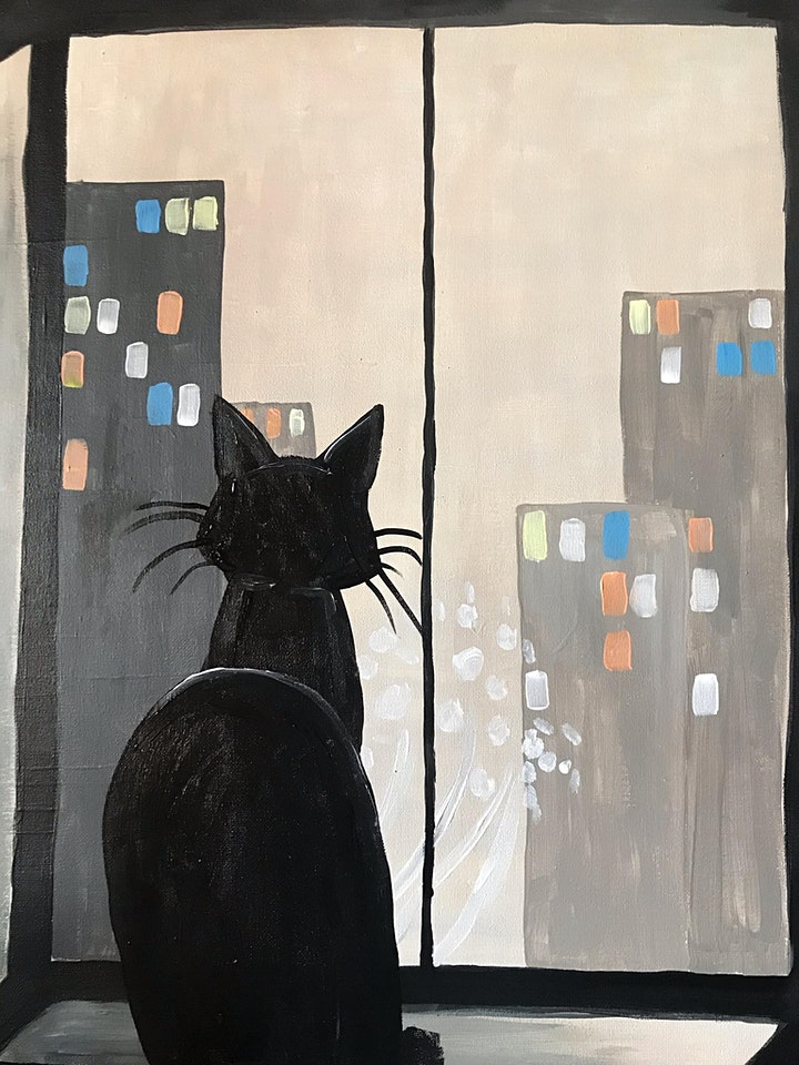 Cat in the City image
