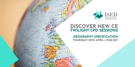 Twilight CPD Sessions   Geography tickets