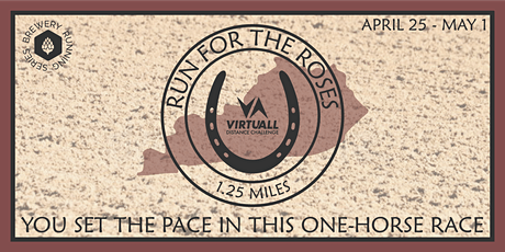 Run for the Roses - Distance Detour | 2021 VirtuALL Distance Challenge tickets