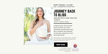 Journey Back to Bliss tickets