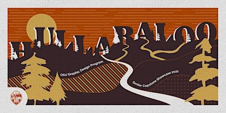 Oregon State Graphic Design Hullabaloo 2021 biglietti