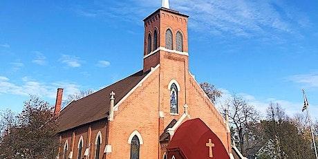 5:00pm Mass Saturday,  April 24th  for ALL PARISHIONERS tickets
