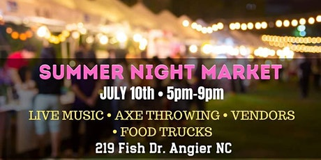 Summer Night Pop-Up Market tickets