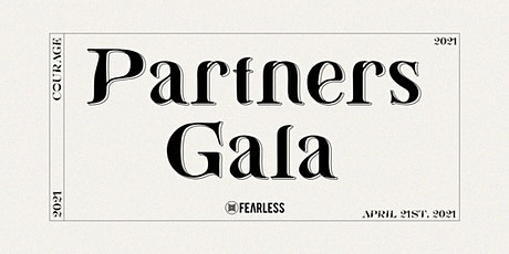 Partners Gala tickets
