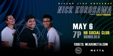 Nick Kurosawa live at HB Social Club tickets