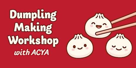 ACYA Dumpling Making Class tickets