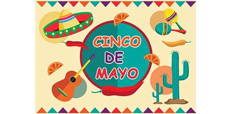 **CINCO DE MAYO** Dance Party! - Wednesday, May 5 2021 - Free on Zoom tickets