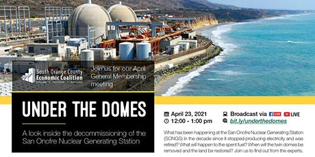 Under the Domes: A look inside the San Onofre Nuclear Generating Station tickets