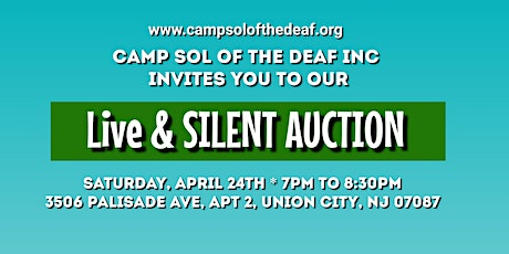 Camp Sol Live & Silent Auction tickets